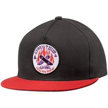 Load image into Gallery viewer, Cliche Gypsy Tour black/red/purple snapback cap
