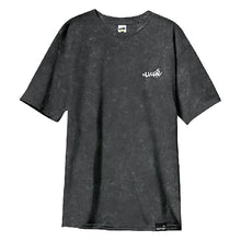Load image into Gallery viewer, Cliche Handwritten Embro mineral wash T shirt