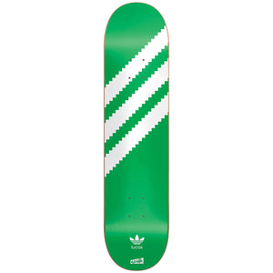 "Cliche x Adidas Lucas Originals green/white 7.75"" deck"