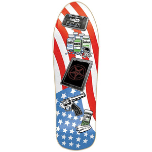 Cliche McKee American Icons 2 OG hand screen printed deck
