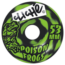 Load image into Gallery viewer, Cliche Poison Frogs 53mm wheels