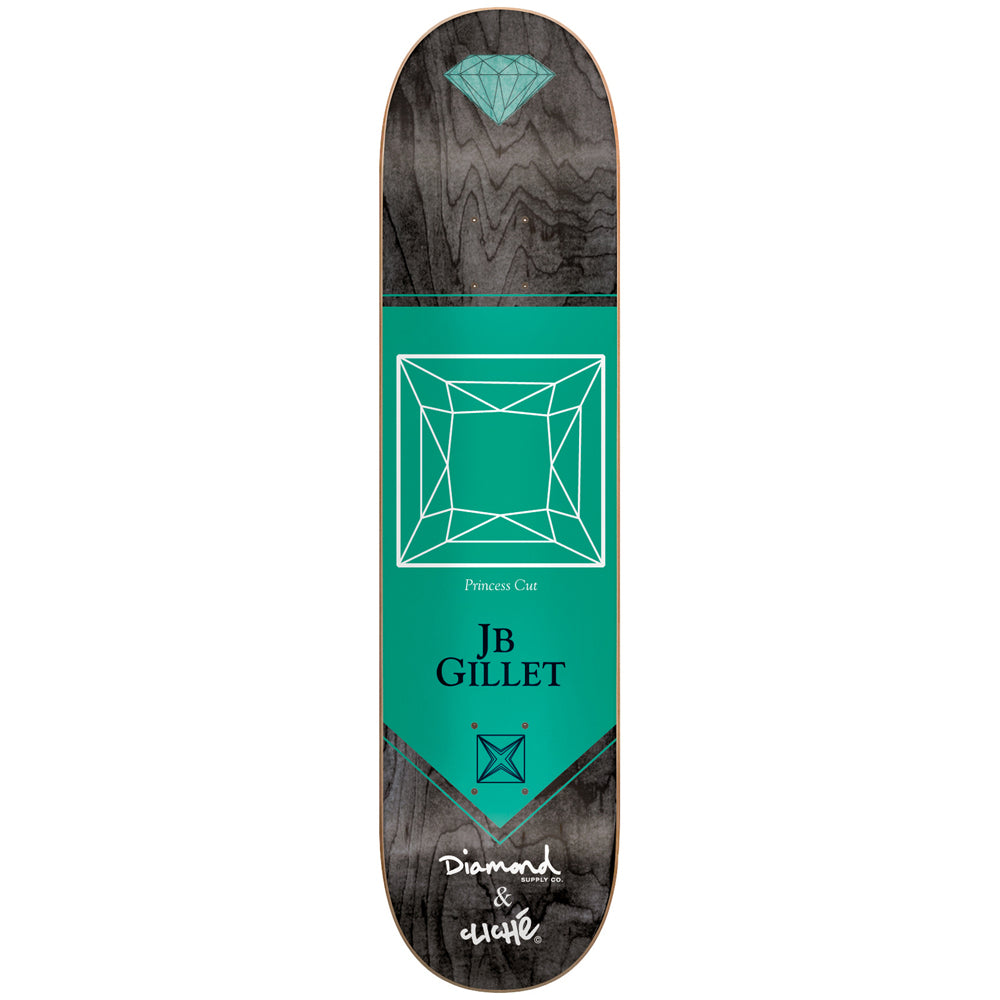 Cliche x Diamond Gillet R7 deck 8.1