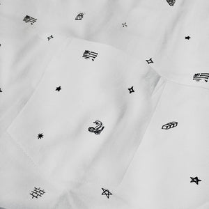 Converse Cons Printed Connector white T shirt
