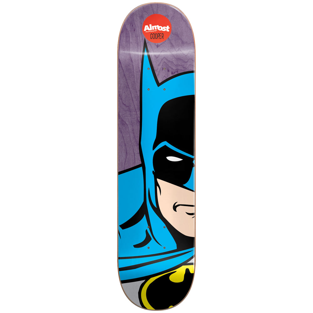 Almost Cooper superhero splitface deck 8