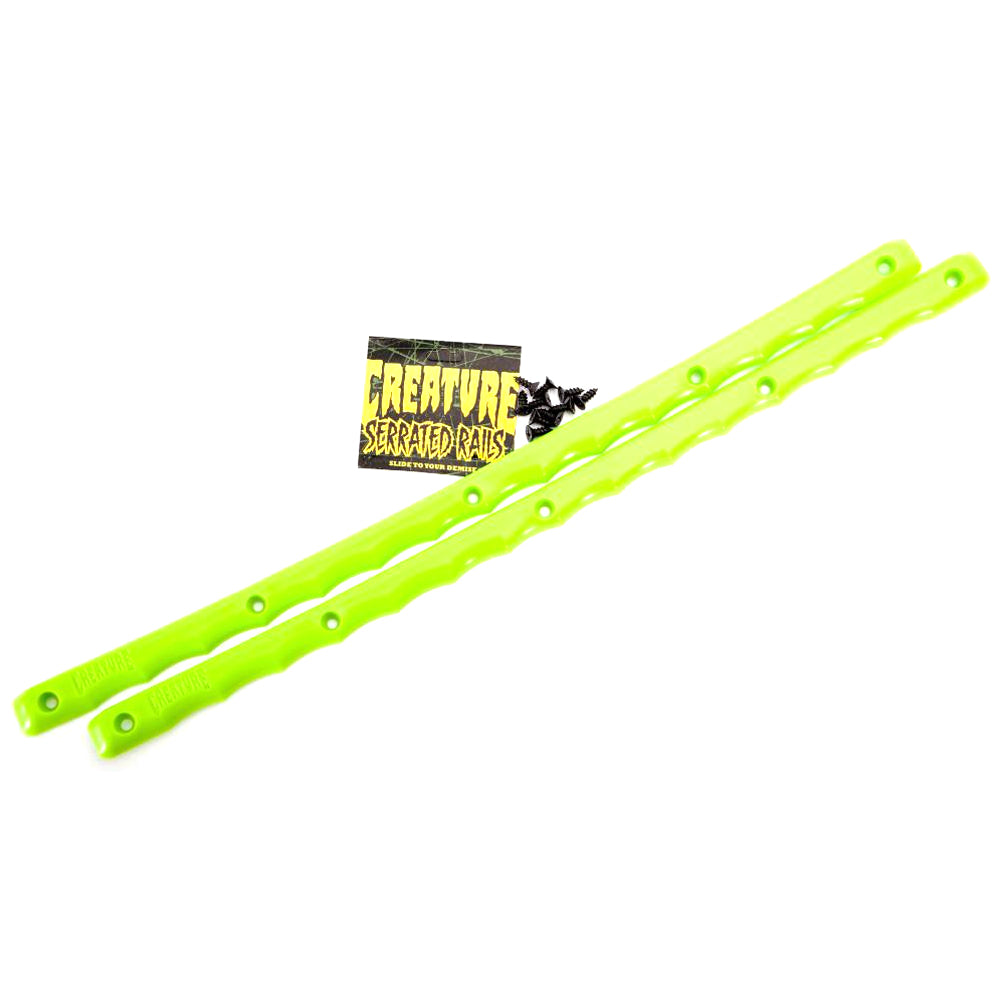 Creature Serrated green rails