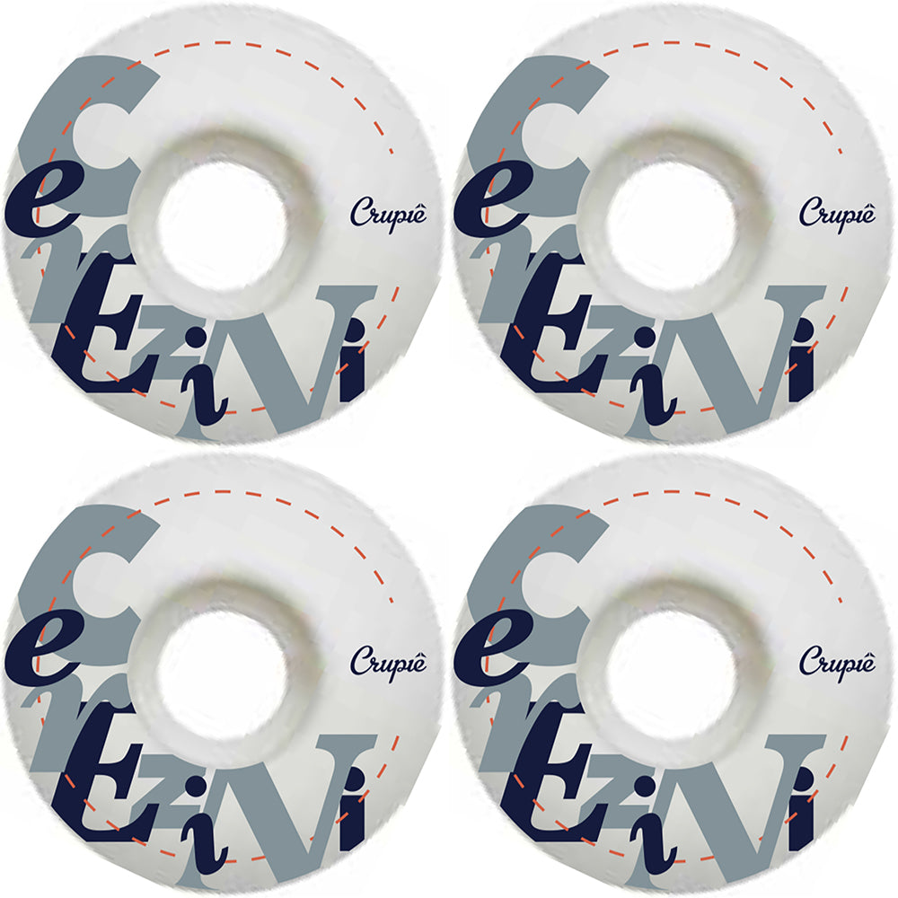Crupiê Cerezini Writing Series Wide Shape wheels 53mm