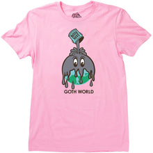Load image into Gallery viewer, Darkroom Goth World Tee pink
