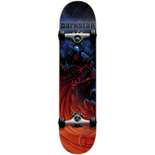"Load image into Gallery viewer, Darkstar Tempest blue/red full size 7.6"" complete skateboard"