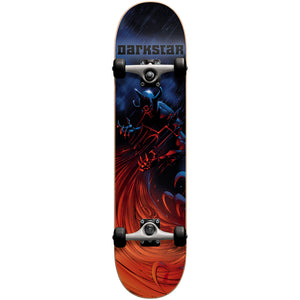 "Darkstar Tempest blue/red full size 7.6"" complete skateboard"