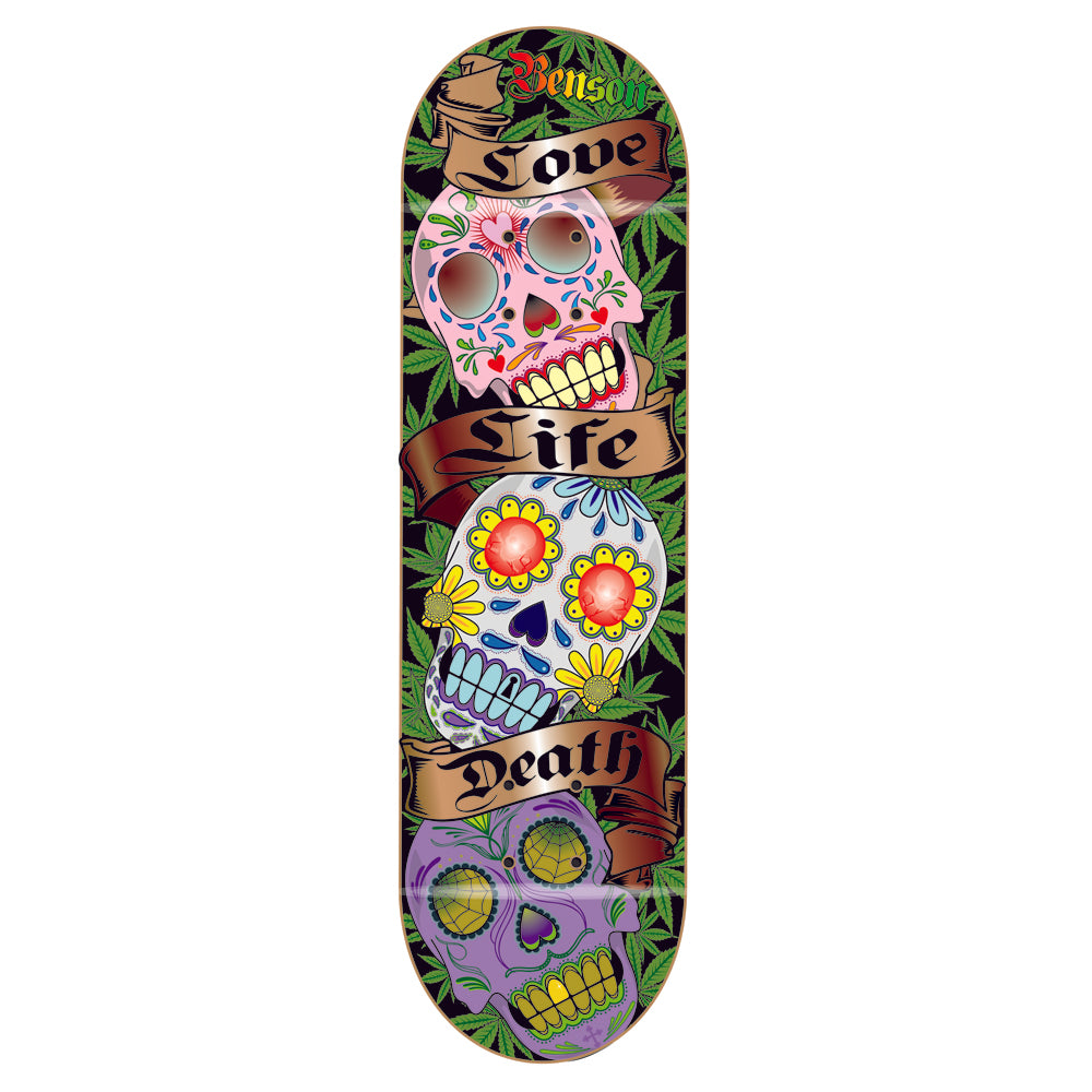 Death Benson Sugar Skull deck