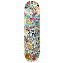 Load image into Gallery viewer, Death Dan Cates Clown deck 8.25""