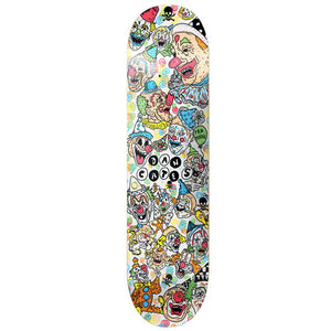Death Dan Cates Clown deck 8.25""