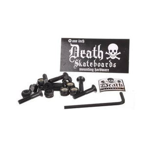 "Death Skateboards 1"" inch mounting bolts"