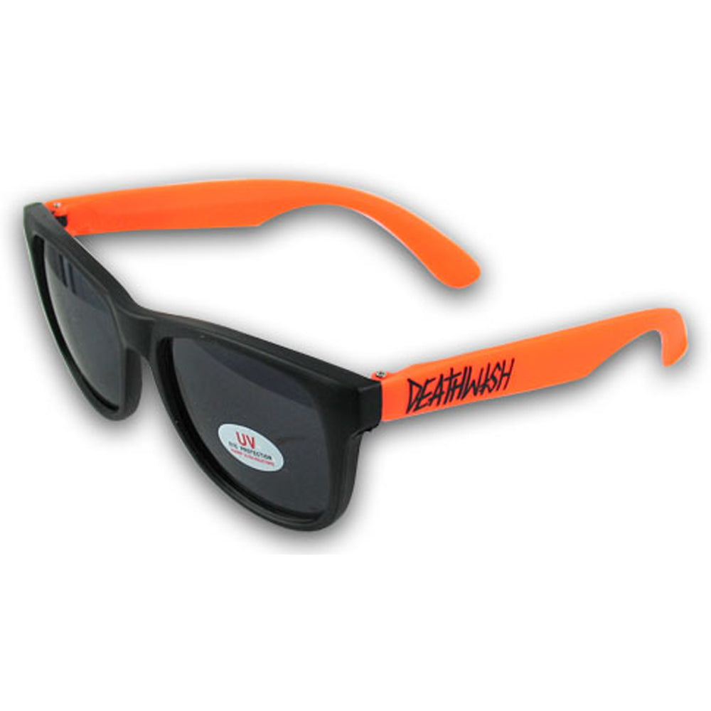 Deathwish black/orange sunglasses