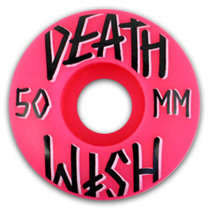 Deathwish Stacked Pink 5 pack 50mm wheels