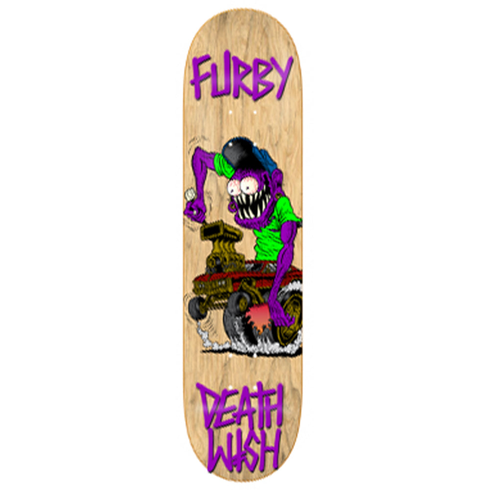 Deathwish Furby Creeps Retro deck