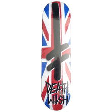 "Load image into Gallery viewer, Deathwish Gang Logo Union Jack 8"" deck"