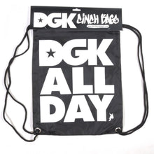 Load image into Gallery viewer, DGK All Day black Cinch bag