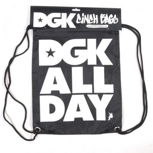 DGK All Day black Cinch bag