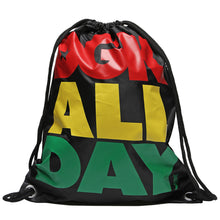 Load image into Gallery viewer, DGK All Day rasta Cinch bag