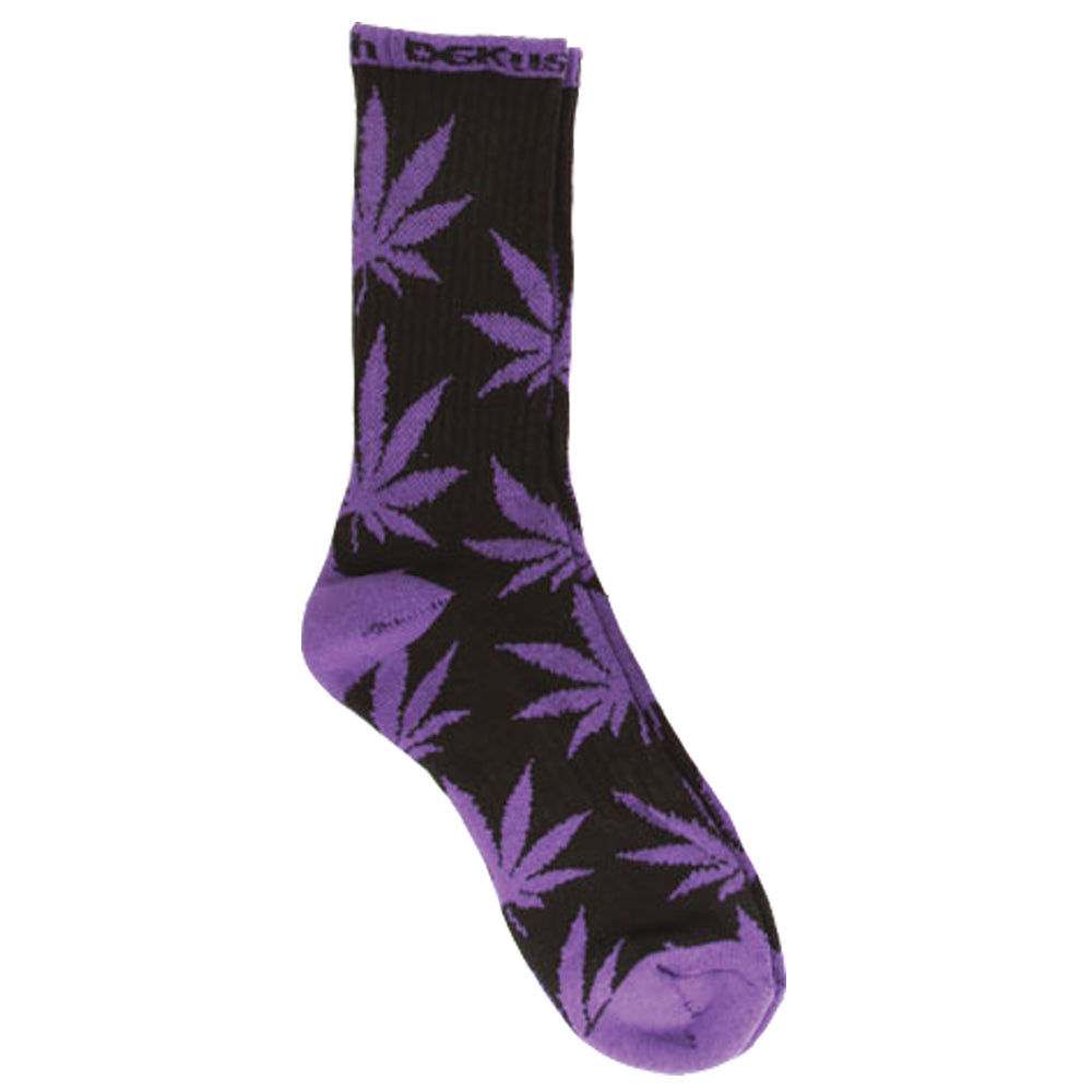 DGK DGKush black/purple socks