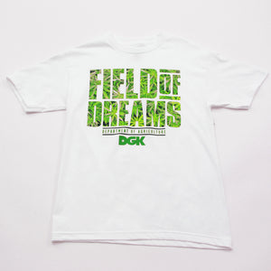 DGK Field Of Dreams white T shirt