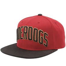 Load image into Gallery viewer, DGK Underdogs red/black snapback cap