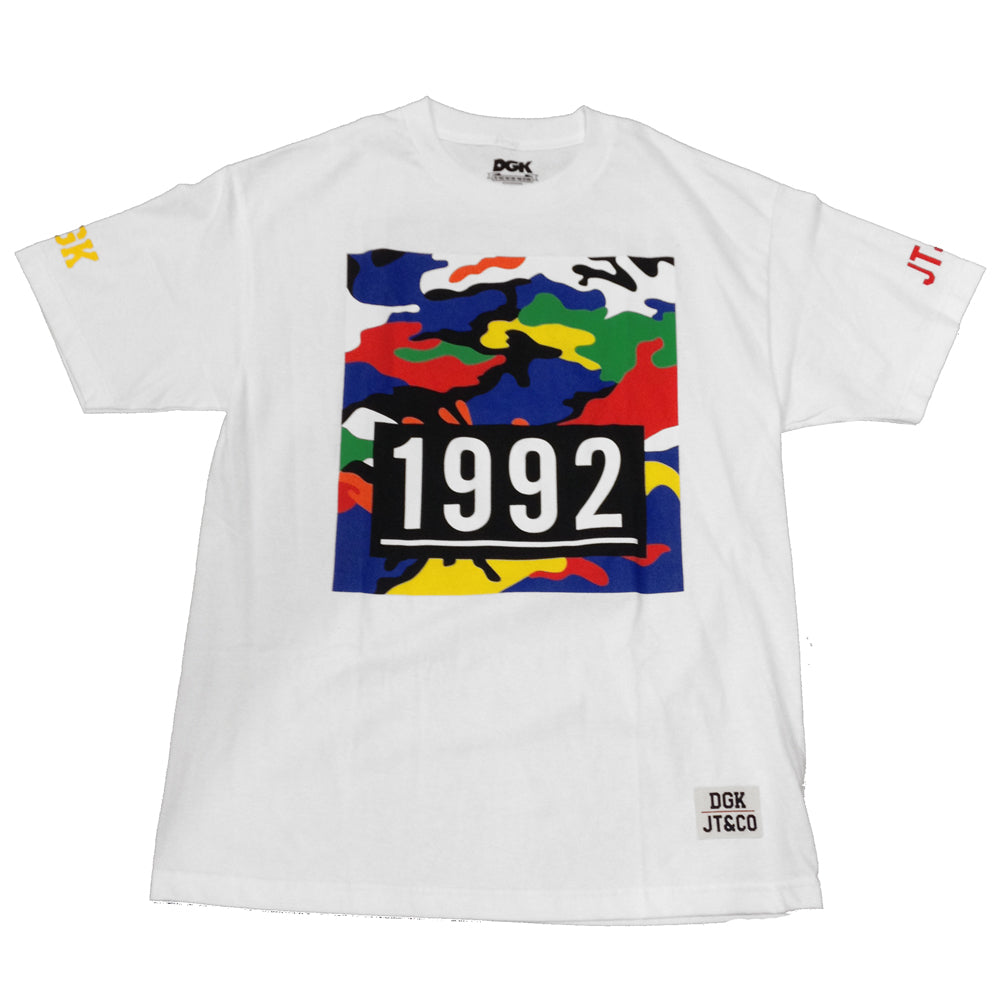 DGK x JT & Co 1992 white T shirt