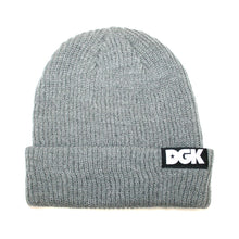 Load image into Gallery viewer, DGK Classic 2 grey beanie hat