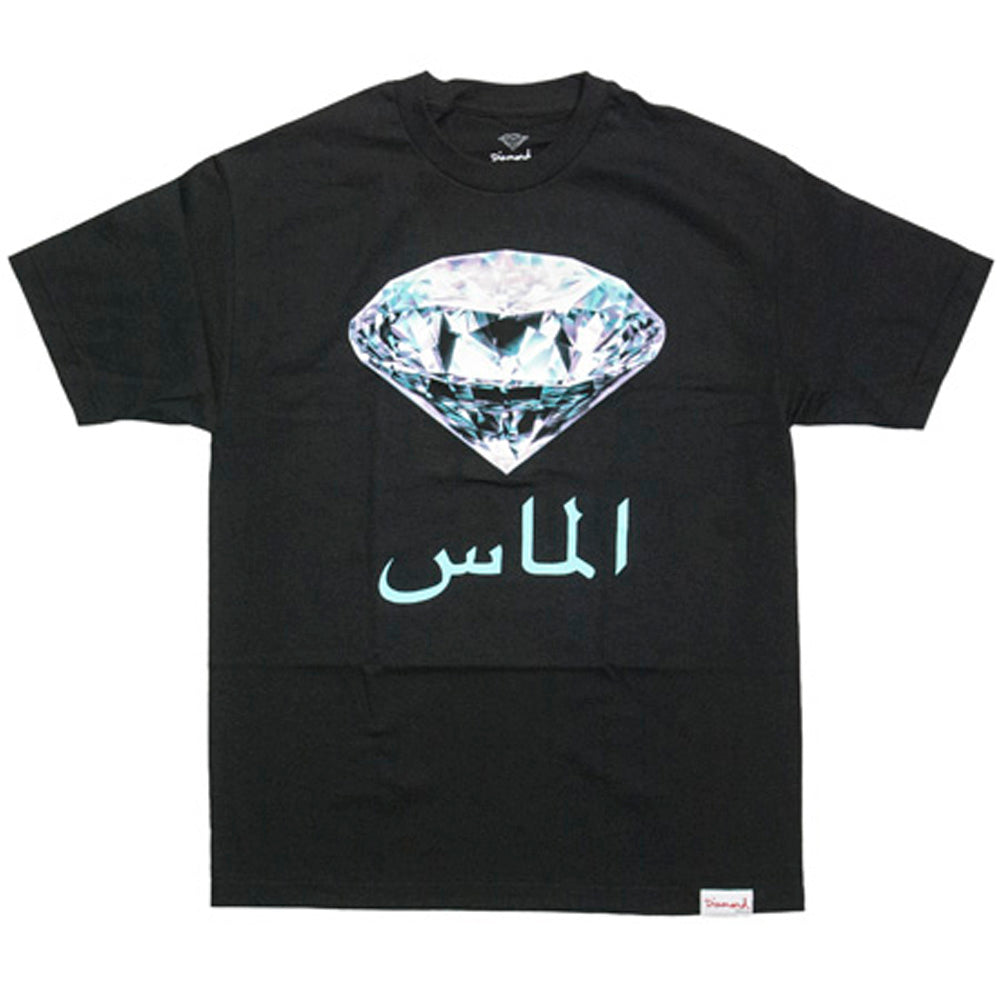 Diamond My Country black T shirt