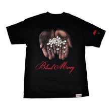 Load image into Gallery viewer, Diamond Blood Money black T shirt