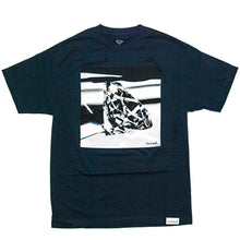 Load image into Gallery viewer, Diamond Brilliant Glass navy T shirt