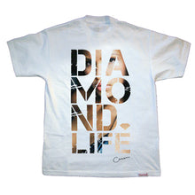 Load image into Gallery viewer, Diamond Cassie Ventura x Estevan Oriol #3 white T shirt
