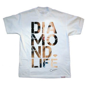 Diamond Cassie Ventura x Estevan Oriol #3 white T shirt