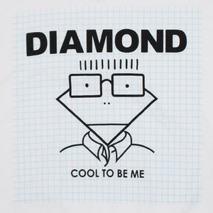 Diamond Cool To Be Me white T shirt