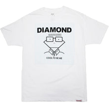 Load image into Gallery viewer, Diamond Cool To Be Me white T shirt