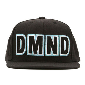 Diamond Felt black snapback cap