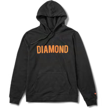 Load image into Gallery viewer, Diamond French Terry hoodie black
