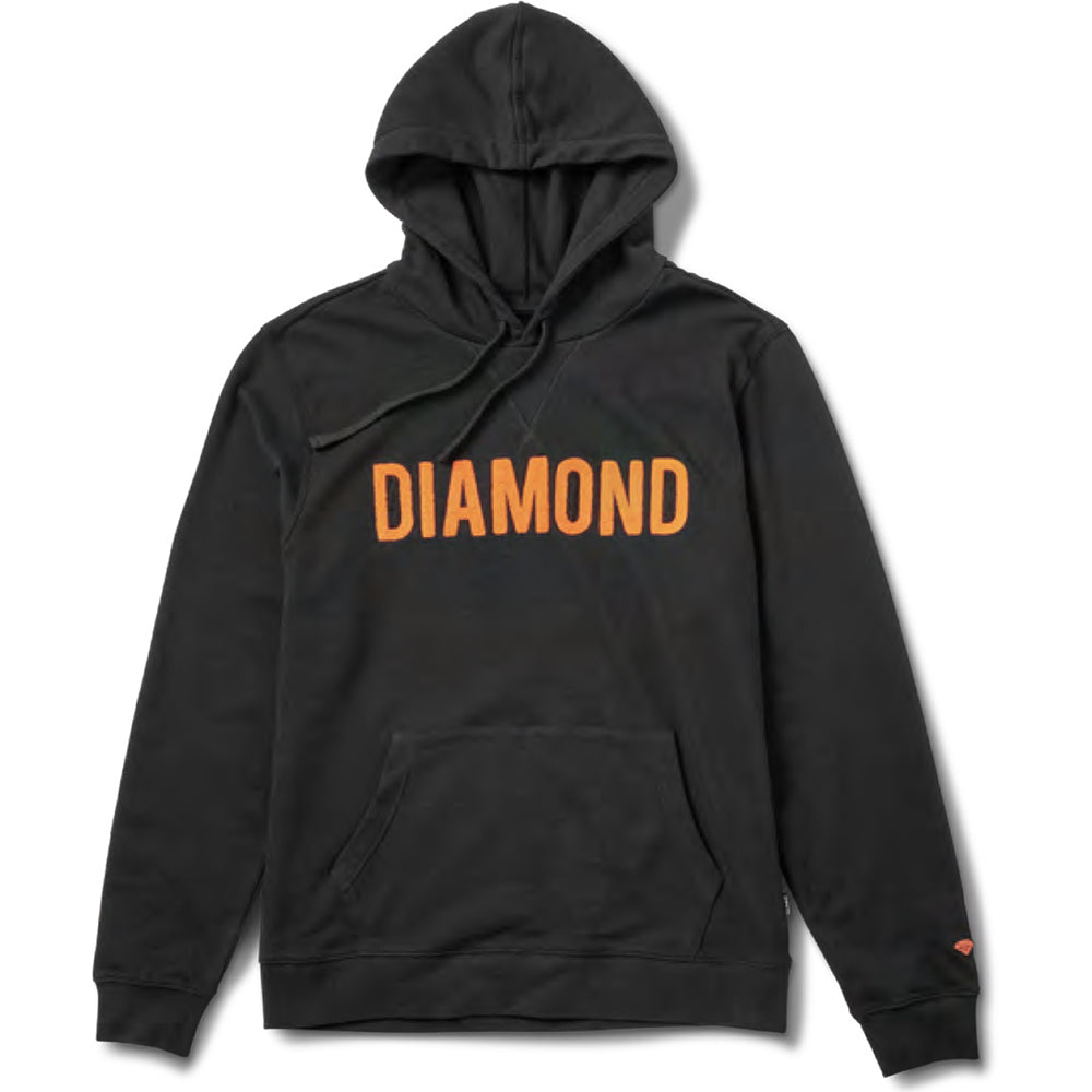 Diamond French Terry hoodie black