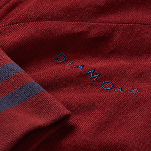 Diamond Futura Corduroy Track jacket burgundy