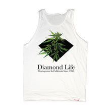 Load image into Gallery viewer, Diamond Homegrown white tank top shirt