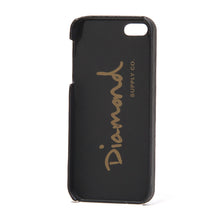 Load image into Gallery viewer, Diamond Leather iPhone 5 Snap On black case