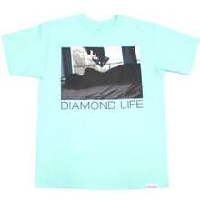Load image into Gallery viewer, Diamond Life Girl tiffany blue T shirt