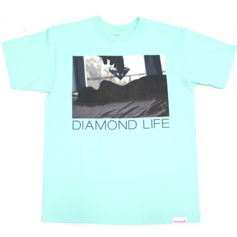 Diamond Life Girl tiffany blue T shirt