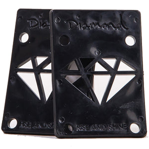 Diamond Rise And Shine riser pads black ⅛""