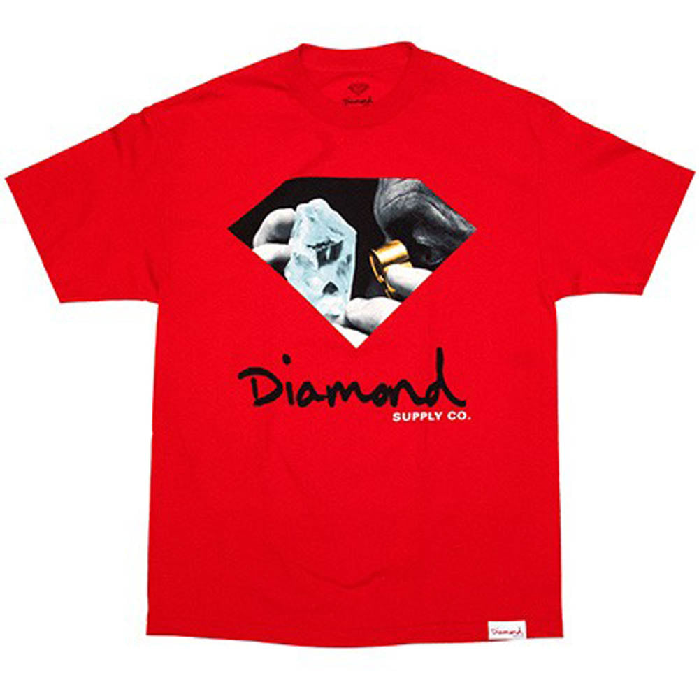 Diamond Scope Red T shirt