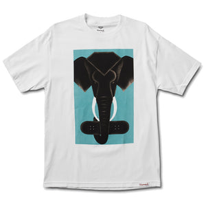 Diamond Tusk white T shirt