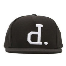 Load image into Gallery viewer, Diamond Un-Polo black/white snapback cap