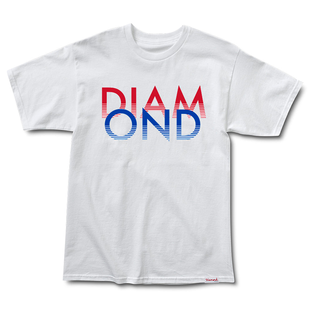 Diamond White Sands white T shirt