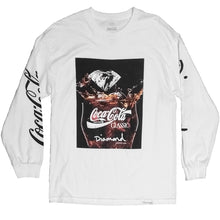 Load image into Gallery viewer, Diamond x Coca Cola Photo long sleeve T shirt white